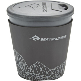 Sea to Summit Delta Light Drinkfles, grey